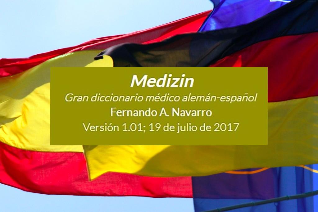 """Sorpresón de aniversario: lanzamos el """"Gran diccionario médico alemán-español"""" de Fernando Navarro"""